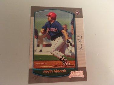 Kevin Mench 2000 Bowman Texas Rangers Rookie RC Baseball Card # 175