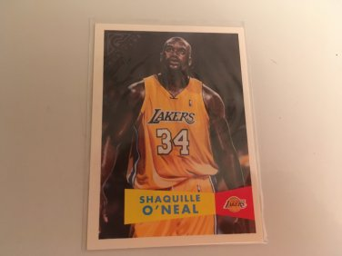 Shaquille O'Neal 1999/00 Topps LA Lakers Heritage INSERT Basketball Card # TGH3