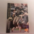 Raghib Ismail 1993/94 Upperdeck Oakland Raiders Rookie RC Football Card # 224