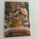 Brad Piickett 2013 Topps Finest Debut Rookie RC MMA UFC Card Serial #'d/88