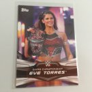 Eve Torres 2016 Topps Woman's Diva Revolution WWE Wrestling Card #5