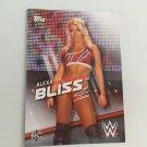 Alexa Bliss 2016 Topps Woman's Diva Revolution WWE Wrestling Card #13