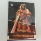 Ultimate Warrior 2014 Topps 30 of Wrestlemania INSERT WWE Wrestling Card #13 of 60