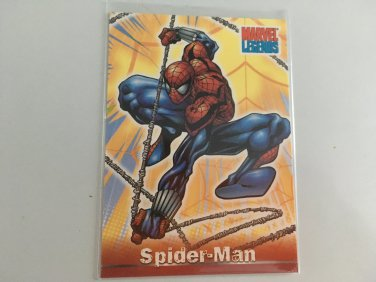 Spider-Man 2001 Marvel Legends Comics Costume Change INSERT Card #CC2