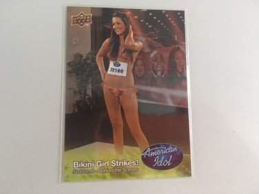 Bikini Girl 2009 American Idol Celebrity TV Reality Music Show Card #27