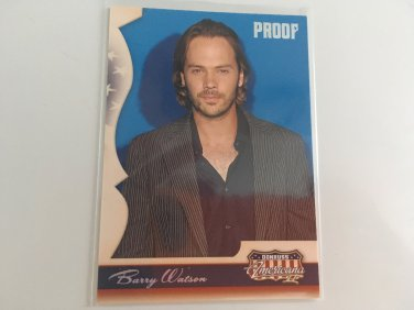 Barry Watson 2008 Panini Americana 7th Heaven Celebrity Card #196 Serial #'d 374/500