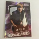 Justin Bieber 2010 Panini Celebrity Music Download INSERT Card #5 of 18