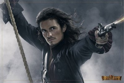 Pirates Of The Caribbean 3 At World's End - Will Turner Movie Poster