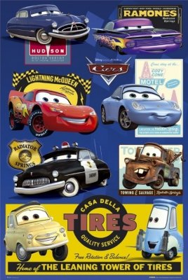 Cars Movie Poster 3