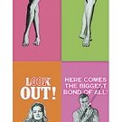 James Bond - Thunderball Mini Door Movie Poster