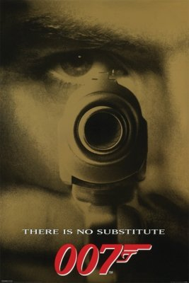 James Bond - There Is No Substitute Poster