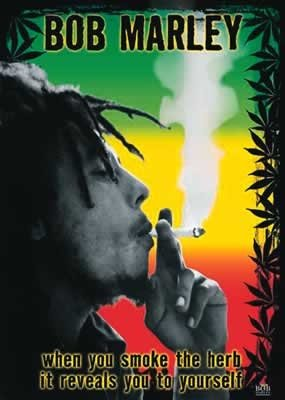 Bob Marley When You Smoke The Herb It Reveals You To