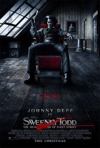 Sweeney Todd Movie Poster (Johnny Depp)