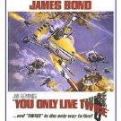 James Bond - You Only Live Twice Movie Poster