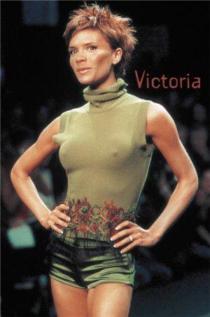"Victoria ""Posh"" Beckman Poster"