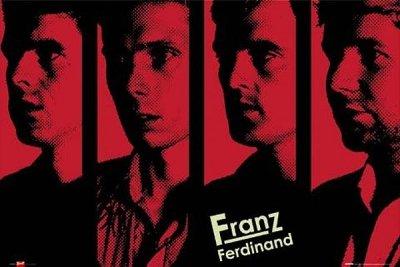 Franz Ferdinand Music Poster