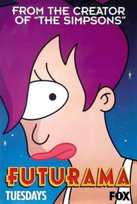 Futurama - Turanga Leela TV Poster