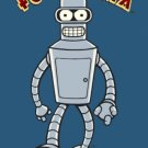 "Futurama - Bender ""Bite My Shiny Metal Ass"" Poster"