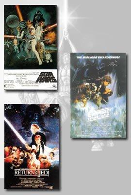 STAR WARS: EPISODE IV, V, VI Movie Poster Set