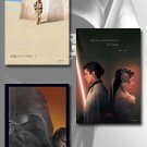 STAR WARS: EPISODE I, II, III Movie Poster Set