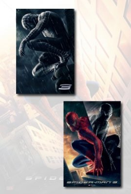 Spider-Man 3 Movie Poster Set