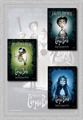 Corpse Bride Movie Poster Set