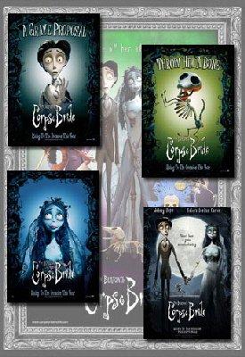 Corpse Bride Movie Poster Set (4)