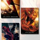 Spider-Man 1, 2, & 3 Movie Poster Set (3)