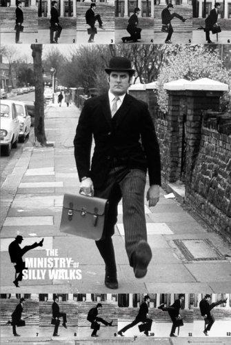 Monty Python TV Show Poster