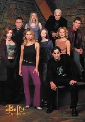 Buffy The Vampire Slayer TV Show Poster 4