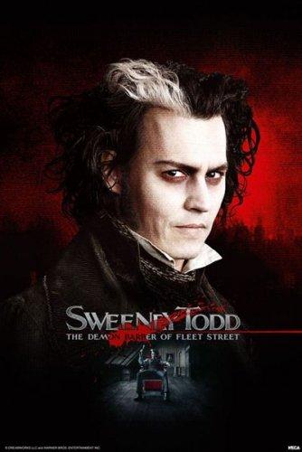 Sweeney Todd Movie Poster 2 (Johnny Depp)