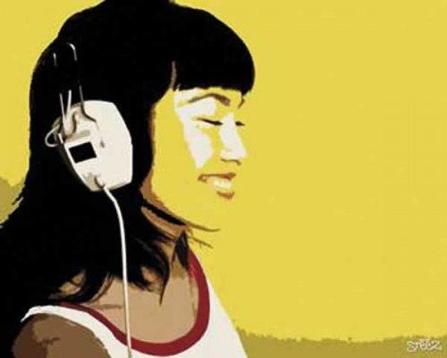 Steez DJ Girl Poster