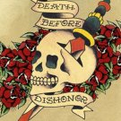 Death Before Dishonor - Ed Hardy Mini Poster
