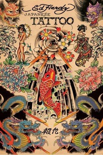 Japanese Tattoo - Ed Hardy Poster