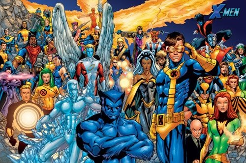 X-Men Poster (All Characters)