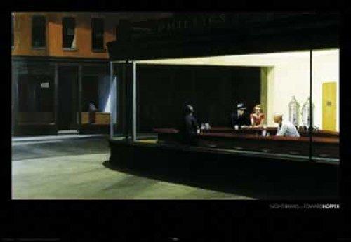 Hopper - Nighthawks Poster