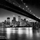 The Manhattan Skyline Art Print - Henri Silberman