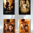 Indiana Jones And The Kingdom Of The Crystal Skull Poster Set 3