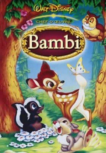 Walt Disney Bambi Movie Poster