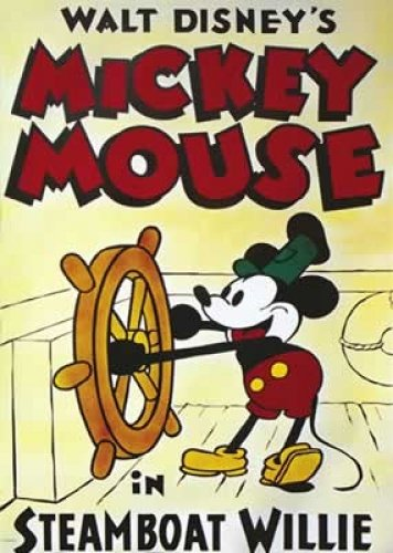 Walt Disney Mickey Mouse Movie Poster