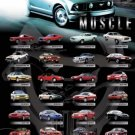 Ford Mustang Collage Poster