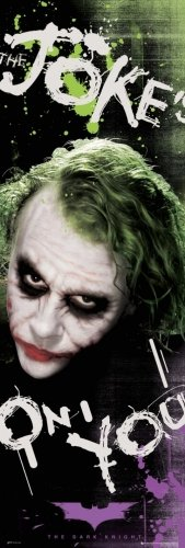 Batman - The Dark Knight : Joke's On You Door Movie Poster