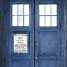 Doctor Who - Police Box TV Show Door Poster