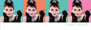 Andy Worhol - Breakfast at Tiffany's Poster