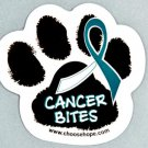 Cancer Bites® Pet Awareness Decal