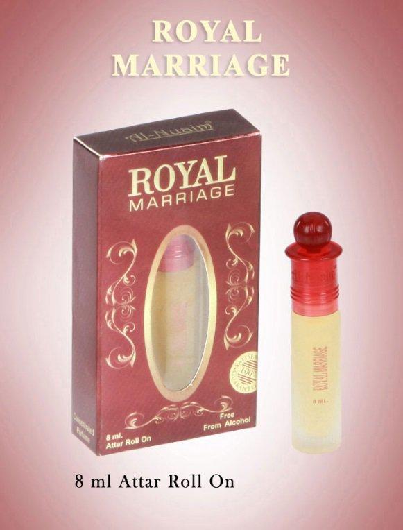 Al Nuaim Royal Marriage 8ml Attar Perfume Oil Alcohol Free Natural Fragrance