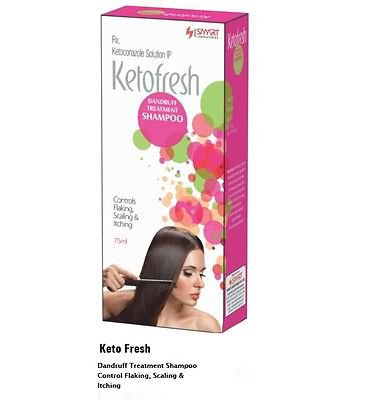 Smart KetoFresh Shampoo 100 ml For Dandruff Treatment Shampoo Control Flaking