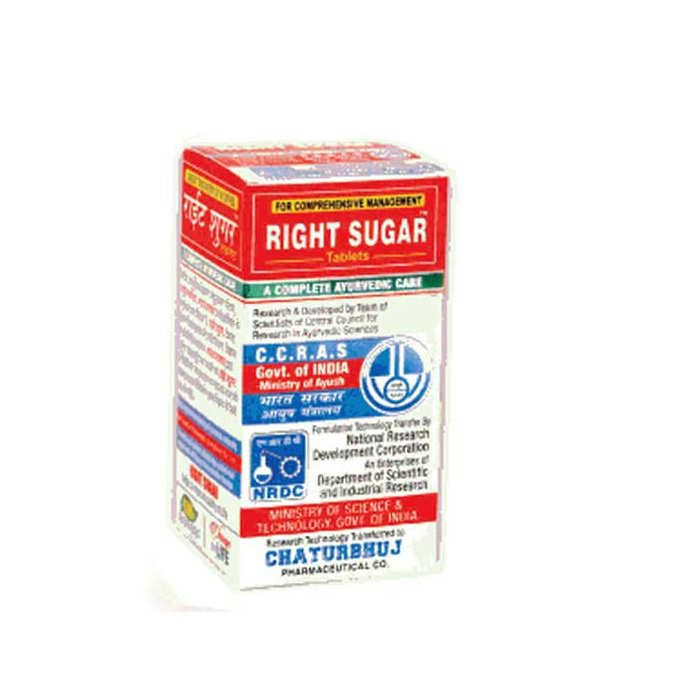 Right Sugar 120 Tablets HERBAL Blood Glucose Metaboliser Ayurvedic IMMUNITY HEAL