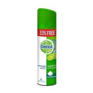 Dettol Shaving Foam Original Fresh - 200g Free Shipping