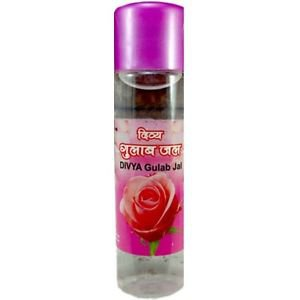 Patanjali Rose Water Gulab jal (120ML) 100% Pure Aroma Glowing Skin free ship